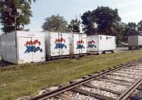 American Freedom Train Storage Wagon