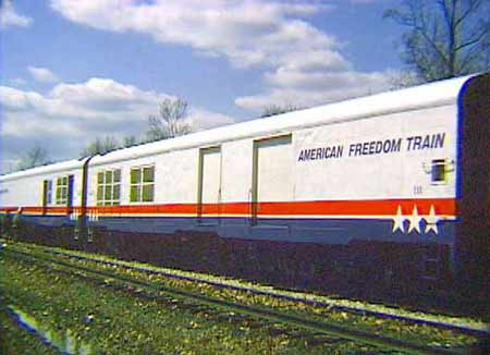 The 1975 1976 American Freedom Train