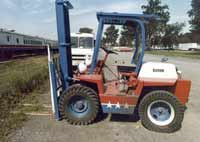 American Freedom Train Forklift