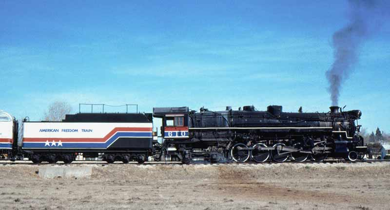 Image result for texas & pacific 610 american freedom train