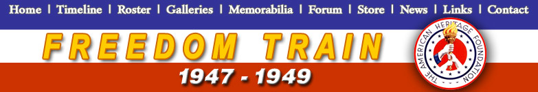 The 1947-1949 Freedom Train