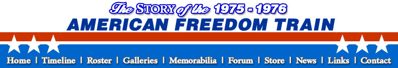 The 1975-1976 Bicentennial American Freedom Train